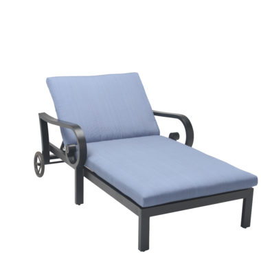 Athens 1.5 Chaise Lounger with Cushion