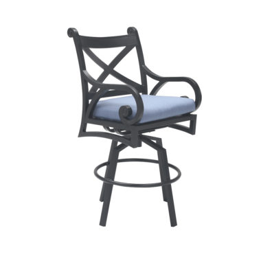 Athens Swivel Bar Chair with Cushion