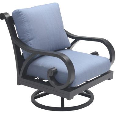 Athens Swivel Club Chair with Cushion2