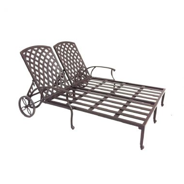 Double Chaise Lounge (slat bed)
