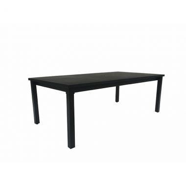 """Cabana 84""""x44"""" Rectangular Dining Table - Textured Black"""