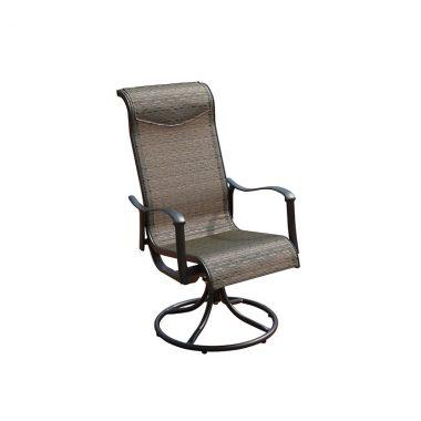 Sling Swivel Dining Chair