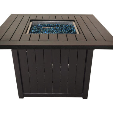 Cabana 44x44 Square Fire Pit Table