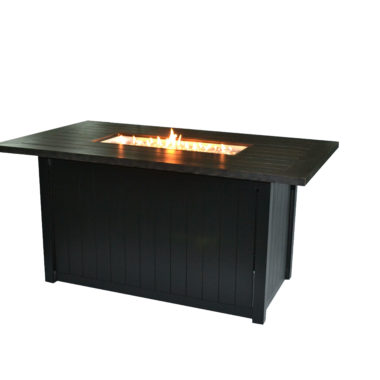 Cabana 58X34 Rectangular Chat Height Fire Pit Table