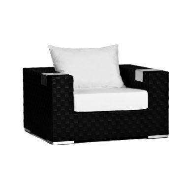 Tatta Club Chair (Black)