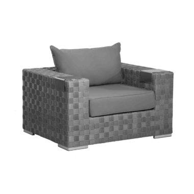 Tatta Club Chair (Charcoal)